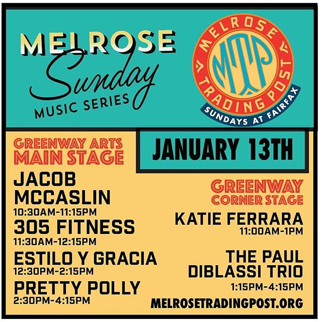 These amazing musicians will be playing this Sunday at #melrosetradingpost be sure to come see them preform. #music #artist #performances