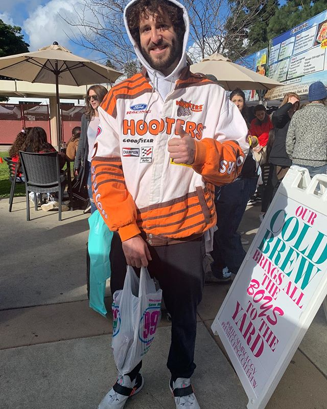 The talented and artistically created @lildickygram stopped by melrose trading post last Sunday... #sundayfunday #losangeles #melrose #lildicky #shoplocal #celebs #swag #lit #rap