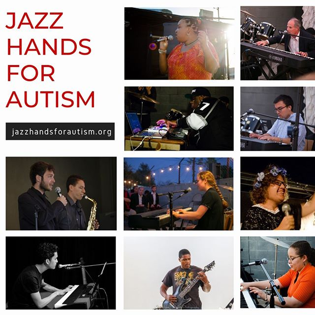 Jazz Hands For Autism will be performing this Sunday at #melrosetradingpost . They provide a platform for musically inclined individuals on the autism spectrum so that they're able to express themselves and explore their talents. ⠀Their goal is to change the public perception of autism by creating pathways from expression to employment for musicians on the autism spectrum.⠀@jazzhandsforautism ⠀⠀⠀#jazzhands #music #talent #muscians #awareness #jazz #jazzhandsforautism